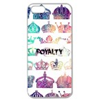 royalty Apple Seamless iPhone 5 Case (Clear) Front