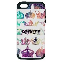 Royalty Apple Iphone 5 Hardshell Case (pc+silicone)