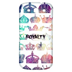 Royalty Samsung Galaxy S3 S Iii Classic Hardshell Back Case