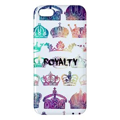 royalty iPhone 5S Premium Hardshell Case