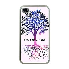 Tree Of Live Laugh Love  Apple Iphone 4 Case (clear)