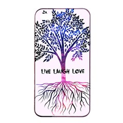 Tree of live laugh love. Apple iPhone 4/4s Seamless Case (Black)