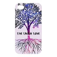 Tree Of Live Laugh Love  Apple Iphone 4/4s Hardshell Case