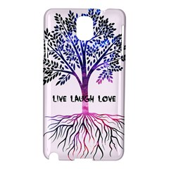 Tree Of Live Laugh Love  Samsung Galaxy Note 3 N9005 Hardshell Case