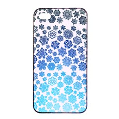 Let It Snow Apple iPhone 4/4s Seamless Case (Black)
