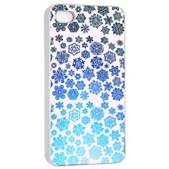 Let It Snow Apple Iphone 4/4s Seamless Case (white)