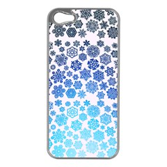 Let It Snow Apple iPhone 5 Case (Silver)