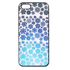 Let It Snow Apple iPhone 5 Seamless Case (Black)