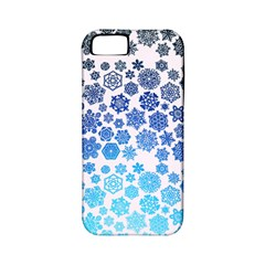 Let It Snow Apple iPhone 5 Classic Hardshell Case (PC+Silicone)