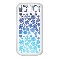 Let It Snow Samsung Galaxy S3 Back Case (white)