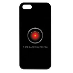 THERE IS A MESSAGE FOR YOU. Apple iPhone 5 Seamless Case (Black)