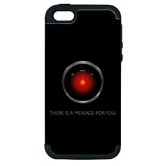 THERE IS A MESSAGE FOR YOU. Apple iPhone 5 Hardshell Case (PC+Silicone)