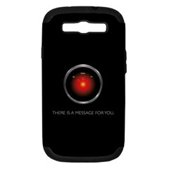There Is A Message For You  Samsung Galaxy S Iii Hardshell Case (pc+silicone)