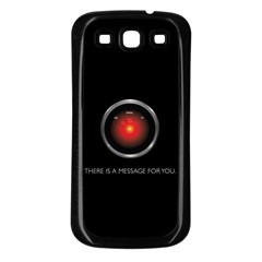 THERE IS A MESSAGE FOR YOU. Samsung Galaxy S3 Back Case (Black)