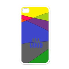 oh right Apple iPhone 4 Case (White)