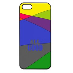 oh right Apple iPhone 5 Seamless Case (Black)