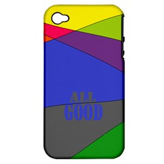 Oh Right Apple Iphone 4/4s Hardshell Case (pc+silicone)