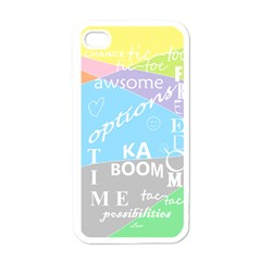 oh write Apple iPhone 4 Case (White)