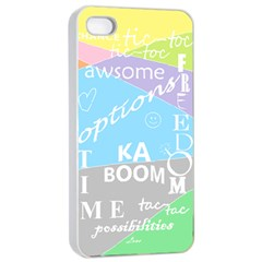 Oh Write Apple Iphone 4/4s Seamless Case (white)