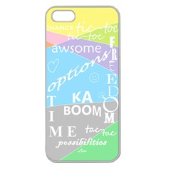 oh write Apple Seamless iPhone 5 Case (Clear)