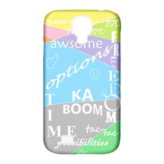Oh Write Samsung Galaxy S4 Classic Hardshell Case (pc+silicone)