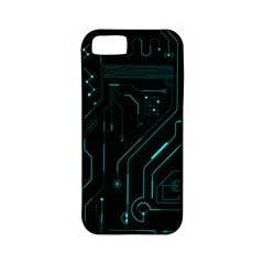 Circuit Board Apple Iphone 5 Classic Hardshell Case (pc+silicone)