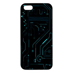 Circuit Board Iphone 5 Premium Hardshell Case