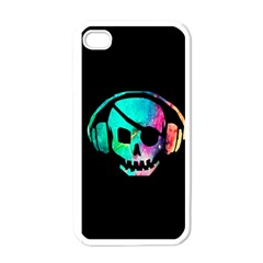 Pirate Music Apple iPhone 4 Case (White)