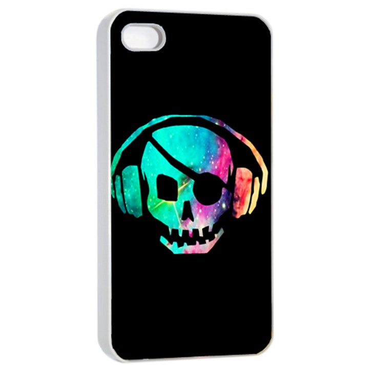 Pirate Music Apple iPhone 4/4s Seamless Case (White)