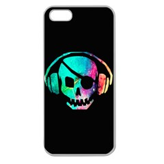 Pirate Music Apple Seamless iPhone 5 Case (Clear)