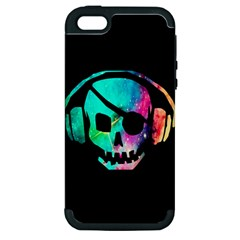 Pirate Music Apple Iphone 5 Hardshell Case (pc+silicone)