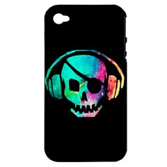 Pirate Music Apple Iphone 4/4s Hardshell Case (pc+silicone)