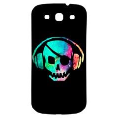 Pirate Music Samsung Galaxy S3 S III Classic Hardshell Back Case