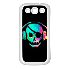 Pirate Music Samsung Galaxy S3 Back Case (white)