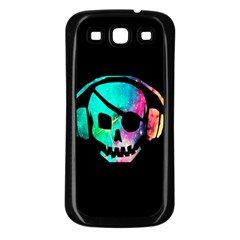 Pirate Music Samsung Galaxy S3 Back Case (Black)