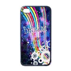 Dream in Colors Apple iPhone 4 Case (Black)