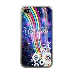 Dream In Colors Apple Iphone 4 Case (clear)