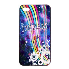 Dream In Colors Apple Iphone 4/4s Seamless Case (black)