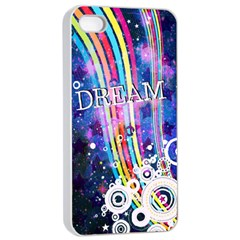 Dream In Colors Apple Iphone 4/4s Seamless Case (white)