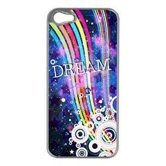Dream in Colors Apple iPhone 5 Case (Silver)
