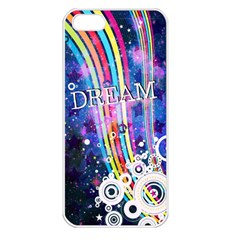 Dream in Colors Apple iPhone 5 Seamless Case (White)