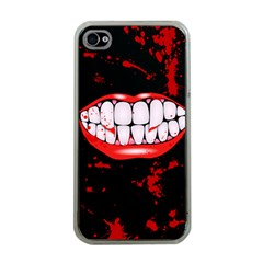 The Phone With Bite Apple iPhone 4 Case (Clear)