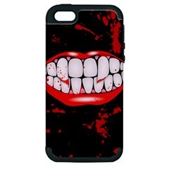 The Phone With Bite Apple iPhone 5 Hardshell Case (PC+Silicone)
