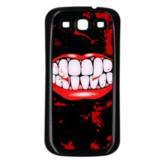 The Phone With Bite Samsung Galaxy S3 Back Case (black)