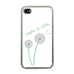 Make a Wish Apple iPhone 4 Case (Clear)