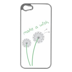 Make A Wish Apple Iphone 5 Case (silver)