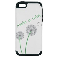 Make a Wish Apple iPhone 5 Hardshell Case (PC+Silicone)