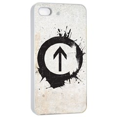 Above the Influence Apple iPhone 4/4s Seamless Case (White)