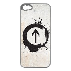 Above the Influence Apple iPhone 5 Case (Silver)