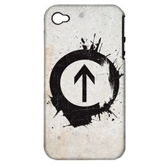 Above the Influence Apple iPhone 4/4S Hardshell Case (PC+Silicone)